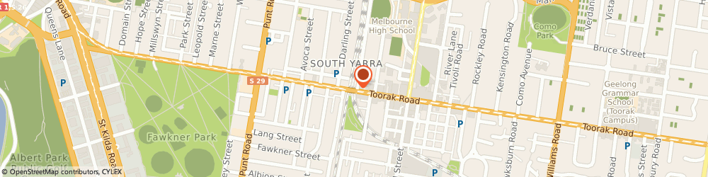 Route/map/directions to 7-Eleven South Yarra, 3141 South Yarra, 167 Toorak Rd