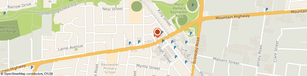 Route/map/directions to The Home Straight, 3153 Bayswater, 1 Valentine Street