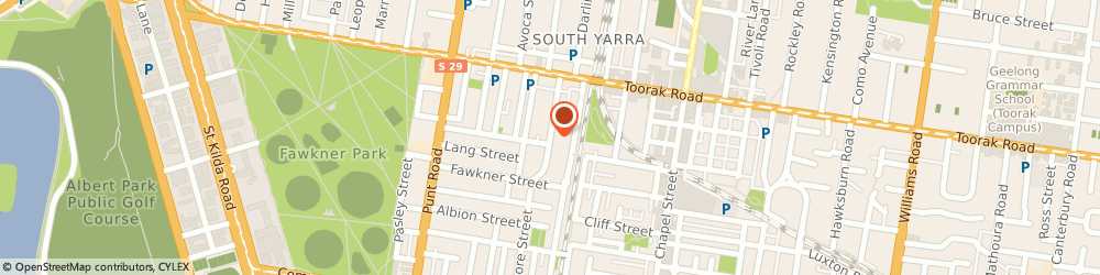 Route/map/directions to CostaFox Developments, 3141 South Yarra, 102/54 Davis Ave