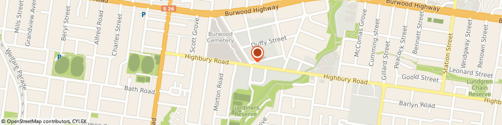 Route/map/directions to LABTESTS DIRECT, 3125 Burwood, 16 Harker St