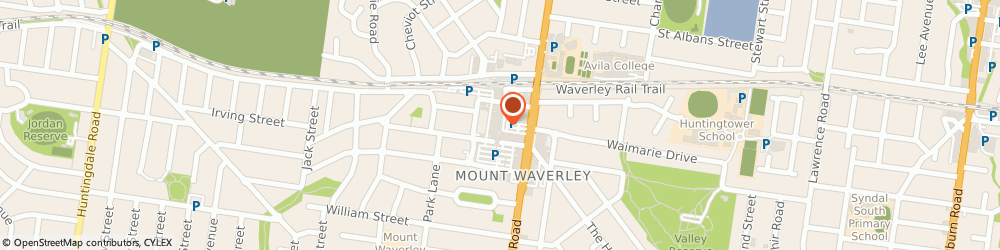 Route/map/directions to St George Bank Mount Waverley ATM, 3149 Mount Waverley, 39-41 Hamilton Place