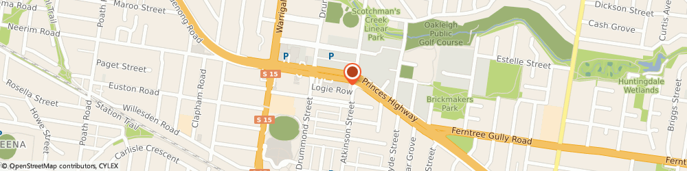 Route/map/directions to Smith & Smith Cabinet Makers, 3166 Oakleigh, 1430 Dandenong Rd