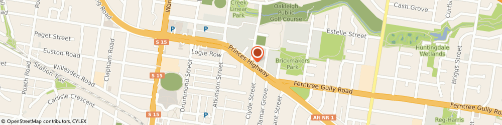 Route/map/directions to IMMA Hair & Beauty Salon, 3166 Oakleigh, 1717 Dandenong Rd