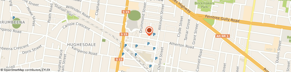 Route/map/directions to Dollar Curtains & Blinds Pty Ltd, 3166 Oakleigh, 29 Atherton Road