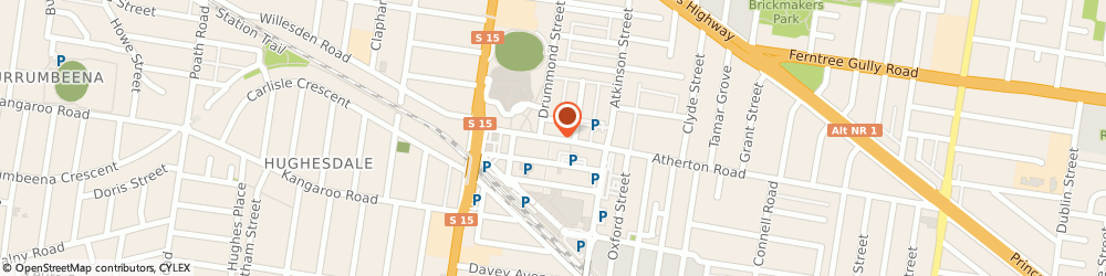 Route/map/directions to St George Bank Oakleigh Branch, 3166 Oakleigh, 17 Atherton Road