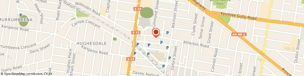 Route/map/directions to Fabric Mart (Oakleigh Vic), 3166 Oakleigh, 5 EATON MALL