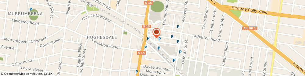 Route/map/directions to Barber On Station, 3166 Oakleigh, 27 STATION ST