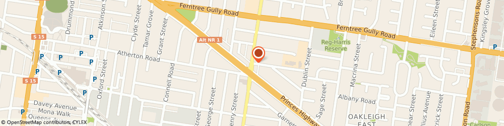 Route/map/directions to V & P Thai Massage, 3166 Oakleigh East, 194 Huntingdale Rd