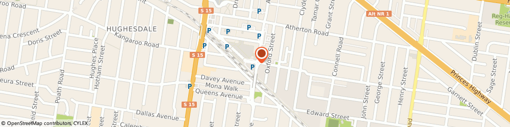 Route/map/directions to St George Bank Oakleigh Centro O/S ATM, 3166 Oakleigh, 39 Hanover St
