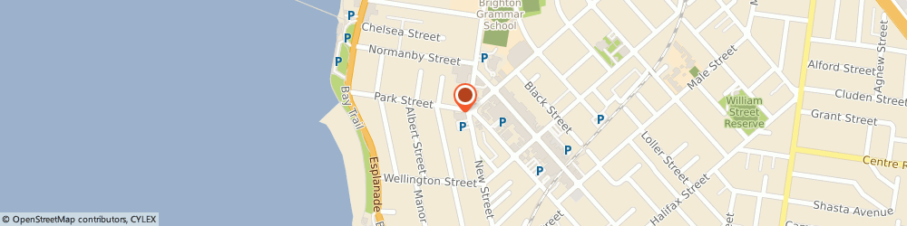 Route/map/directions to The Marine Hotel, 3186 Brighton, 215 New Street