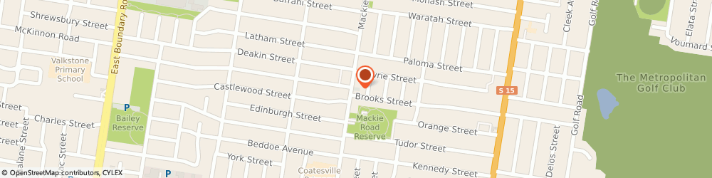 Route/map/directions to South Eastern Active Health, 3165 Bentleigh East, 74 Mackie Road