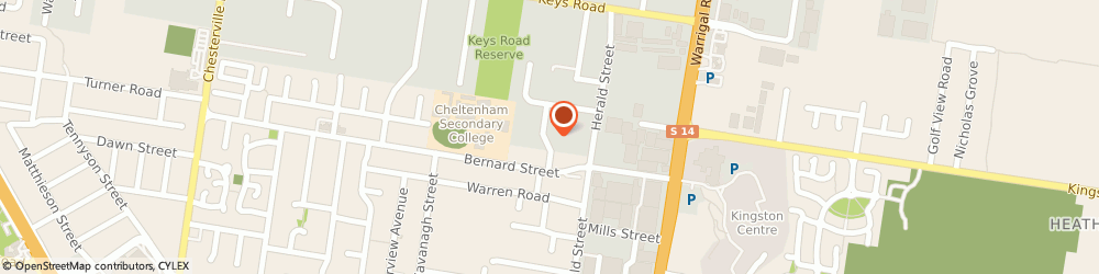Route/map/directions to Hiburn Services, 3192 Cheltenham, 8 DISSIK ST