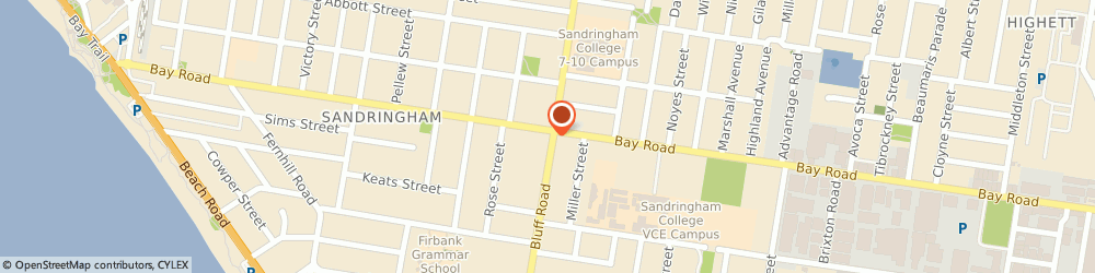 Route/map/directions to Better Body Beauty, 3191 Sandringham, 194 Bay Rd