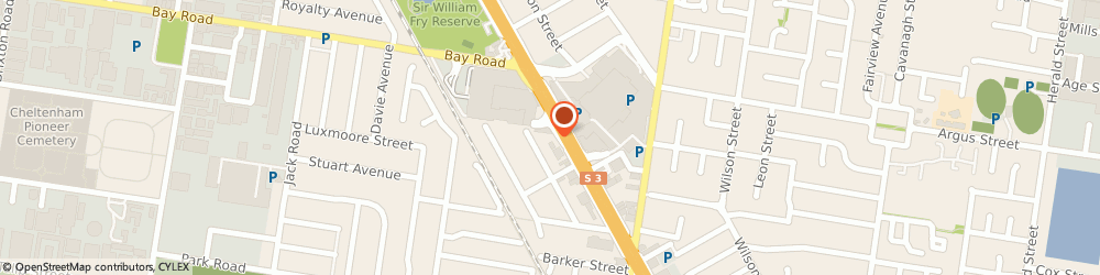 Route/map/directions to Robin's Nest Early Learning Centre, 3192 Cheltenham, 1158 NEPEAN HWY