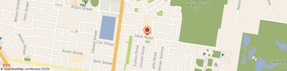 Route/map/directions to Kingston Heath Primary School, 3192 Cheltenham, 25 FARM RD