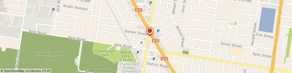 Route/map/directions to TheOmStore, 3192 Cheltenham, 5/321 Charman Rd