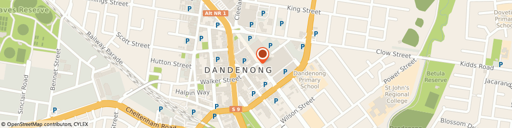 Route/map/directions to Target - Dandenong, 3175 Dandenong, Cnr McCrae and Walker Streets