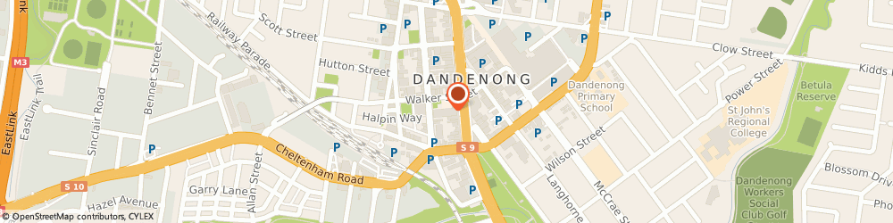 Route/map/directions to Dandenong Library, 3175 Dandenong, 225 Lonsdale St