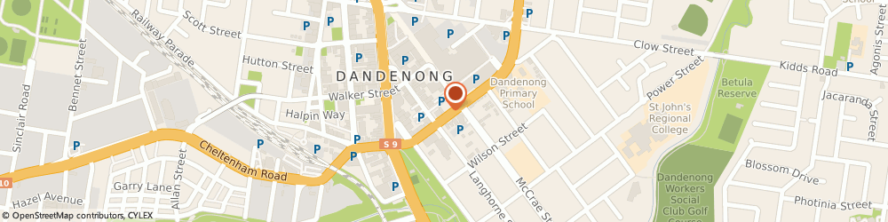 Route/map/directions to Albatross Swimming Pools (Aust) Pty Ltd (Dandenong, 3175 Dandenong, 157 Foster Street