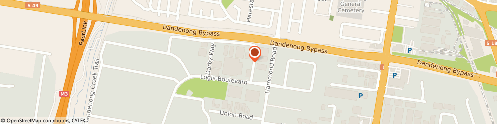 Route/map/directions to Heavy Automatics  Pty Ltd, 3175 Dandenong, 17 Crompton Way