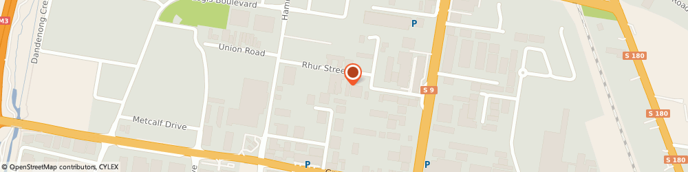 Route/map/directions to G & V Pool Plastering, 3175 Dandenong, 9/22-24 Rhur Street