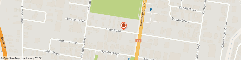 Route/map/directions to Infrabuild Recycling, 3175 Dandenong South, 21 Elliott Road