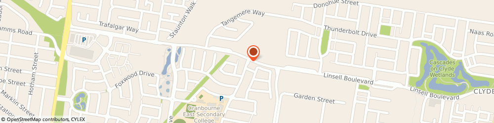 Route/map/directions to Cabs in Melbourne, 3977 Cranbourne East, 62 Stately Drive