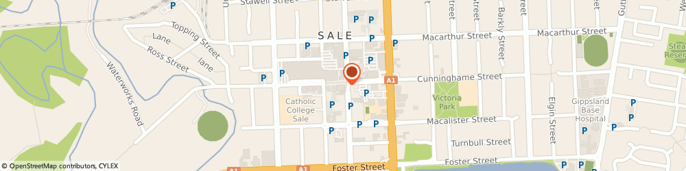 Route/map/directions to Camera House, 3850 Sale, 275 Raymond Street