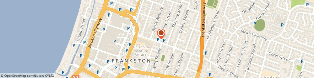 Route/map/directions to 7-Eleven Frankston, 3199 Frankston, Cnr. Beach & Finlay Streets