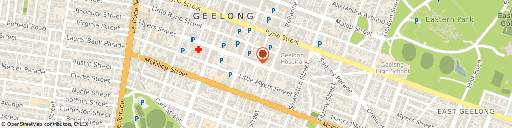 Route/map/directions to Pro Tree Services Geelong, 3220 Geelong, 202 Myers St