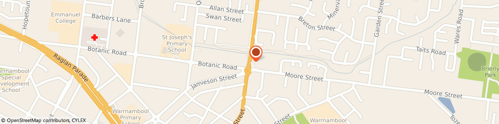 Route/map/directions to Active Sportz, 3280 Warrnambool, 48 Mortlake Rd