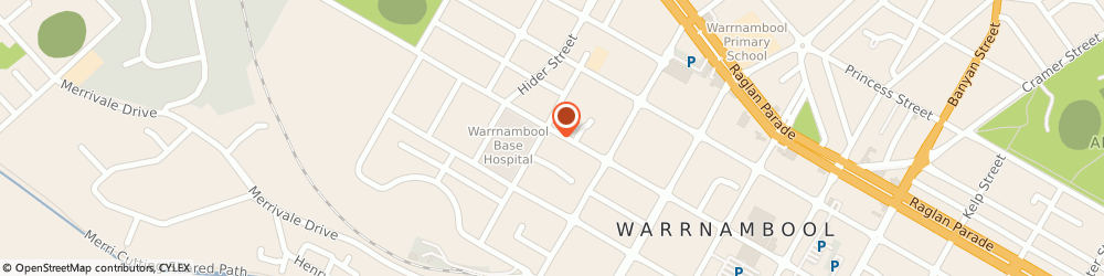 Route/map/directions to Warrnambool Community Health Centre, 3280 Warrnambool, 279 KOROIT ST