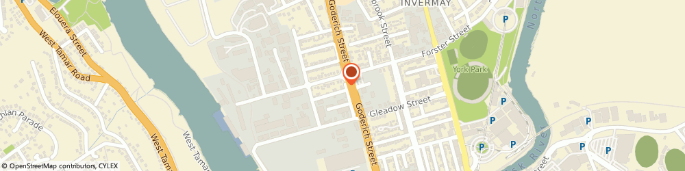 Route/map/directions to Trayco Metal Fabrication, 7248 Invermay, 19 Northcote Street