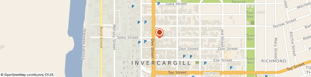 Route/map/directions to BurgerFuel Invercargill, 9810 Invercargill, 123 Dee Street