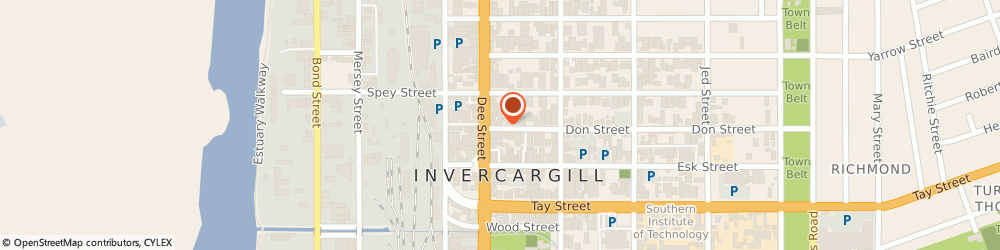 Route/map/directions to Art Fun Wear, 9810 Invercargill, 12 DON STREET