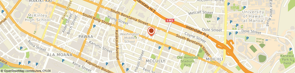 Route/map/directions to Allstate Personal Financial Representative: Conor McMenamy, 96826 Honolulu, 1806 S King St