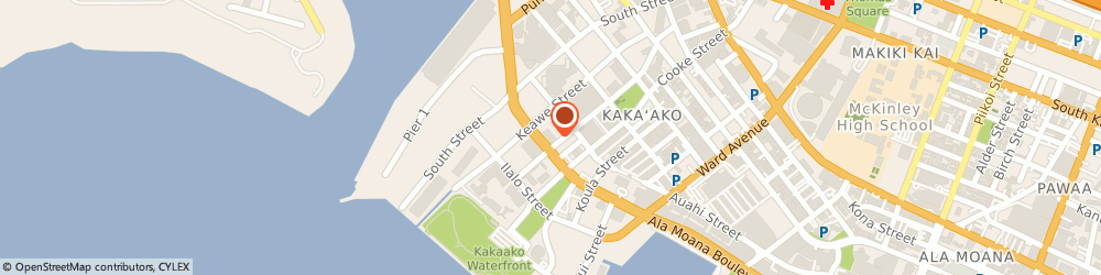 Route/map/directions to Starbucks Coffee Ala Moana & Coral, 96813 Honolulu, 680 Ala Moana Blvd.
