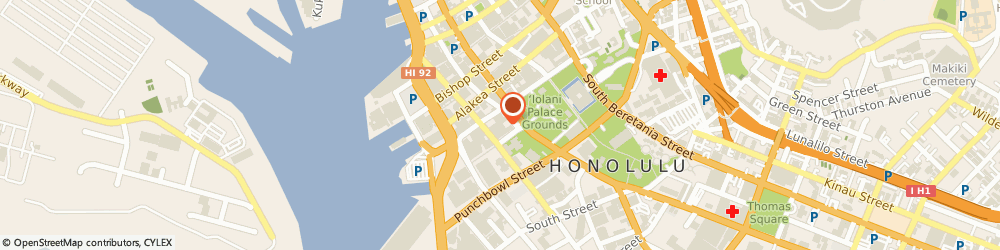 Route/map/directions to Hawaii Junk Removal, 96813 Honolulu, 335 Merchant Street #1614