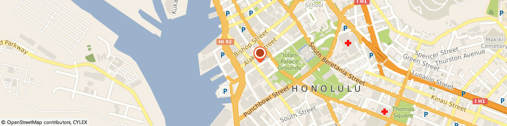 Route/map/directions to Bank of America, 96813 Honolulu, 225 Queen St # 100