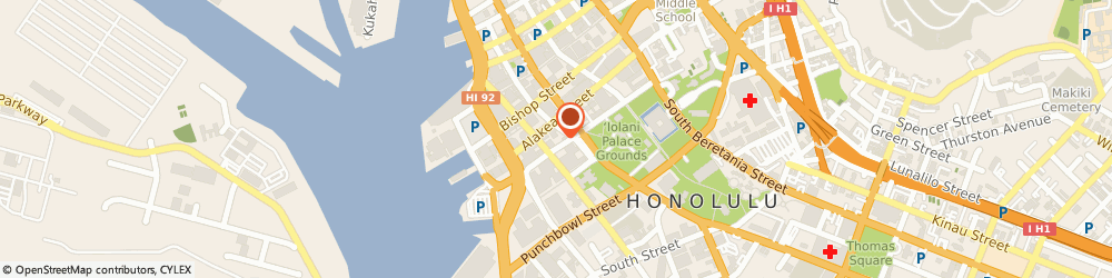 Route/map/directions to HMS Financial Services, LLC, 96813 Honolulu, 201 Merchant Street