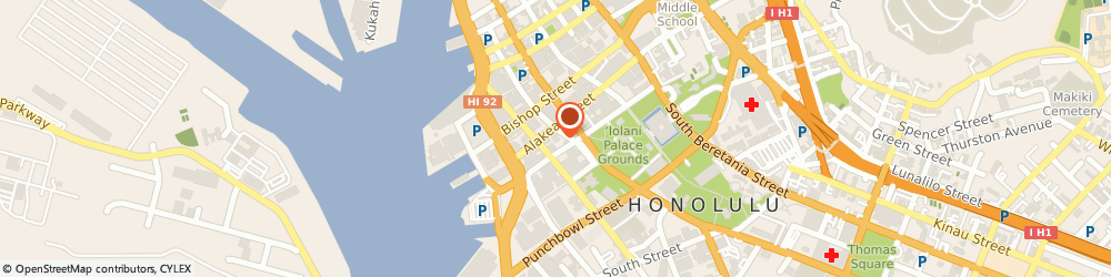 Route/map/directions to Aon Risk Services, Inc., 96813 Honolulu, 201 Merchant Street