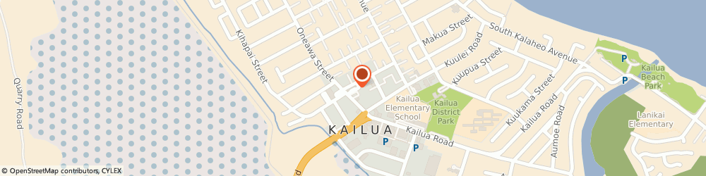 Route/map/directions to Sylvan Learning Ctr, 96734 Kailua, 56 ONEAWA ST