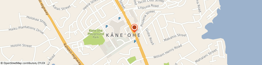 Route/map/directions to Pah Kes Chinese Restaurant, 96744 Kaneohe, 46-018 Kamehameha Hwy