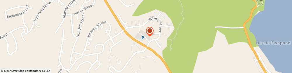 Route/map/directions to Bobbys Bistro, 96744 Kaneohe, 47-388 HUI IWA STREET