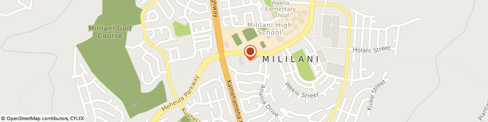 Route/map/directions to The Church Of Jesus Christ Of Latter-Day Saints - Mililani Hawaii Stake, Mililani 2nd Ward, 96789 Mililani, 95-1039 MEHEULA PARKWAY