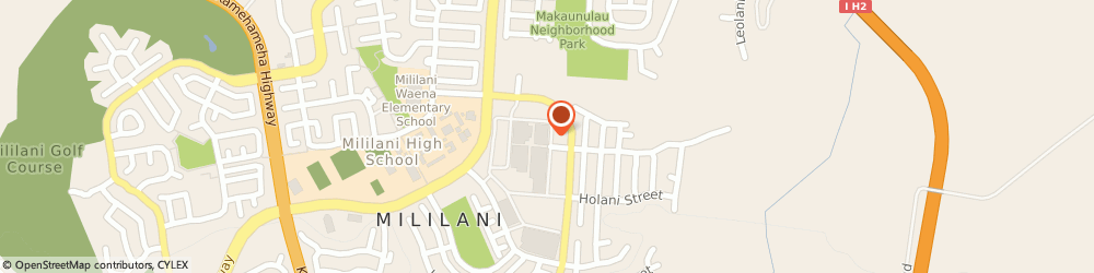 Route/map/directions to Pizza Hut, 96789 Mililani, 95-1249 Meheula Pkwy