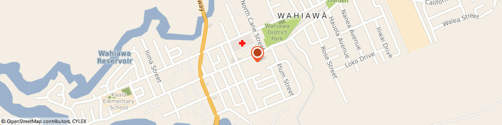 Route/map/directions to Pizza Hut, 96786 Wahiawa, 823 California Avenue