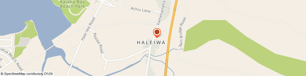Route/map/directions to Pizza Hut Restaurants - Haleiwa Carryout-Delivery, 96791 Waialua, 66-437 KAMEHAMEHA HIGHWAY