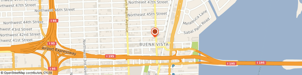 Route/map/directions to Aesop, 33137-3516 Miami, 160 Northeast 41st Street