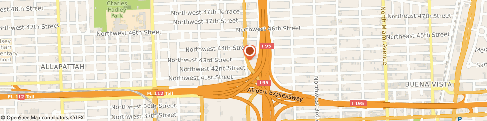 Route/map/directions to Wax Supply, 33127 Miami, 4256 NW 7Th Ave
